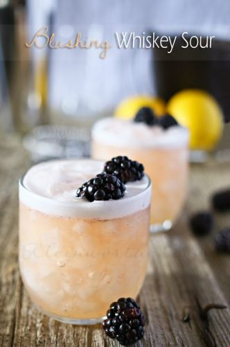 Spring Whiskey Sour