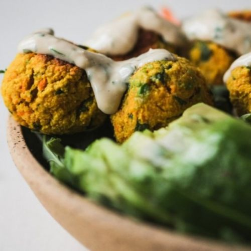 Whole30 Falafel with Garlic Tahini