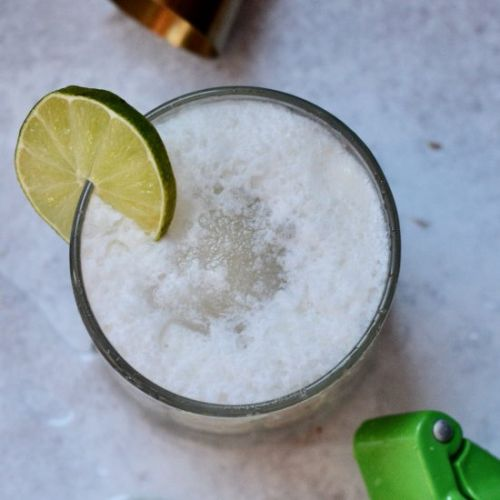 Coconut Gin Fizz with Agave