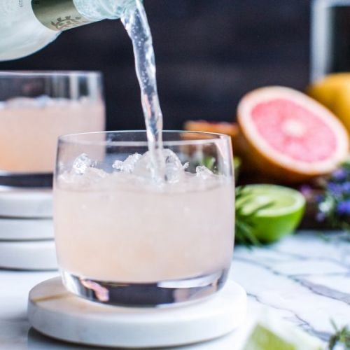 Rosemary-Grapefruit Moscow Mule