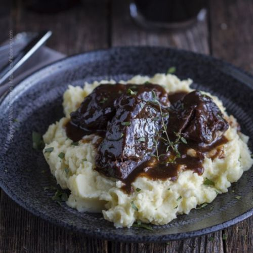Beer Braised Bone-in Short Ribs