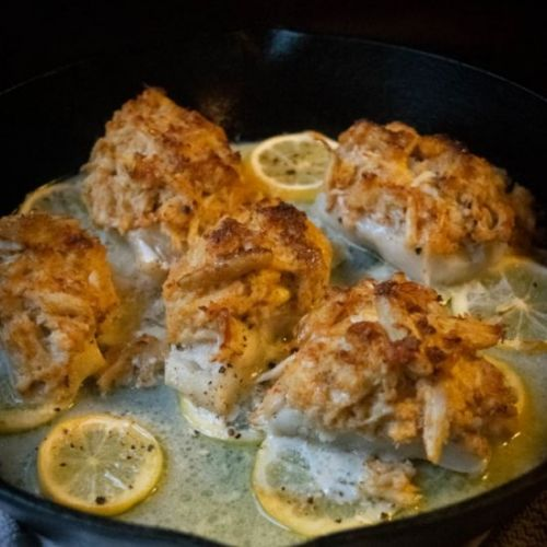 Crab Topped Cod