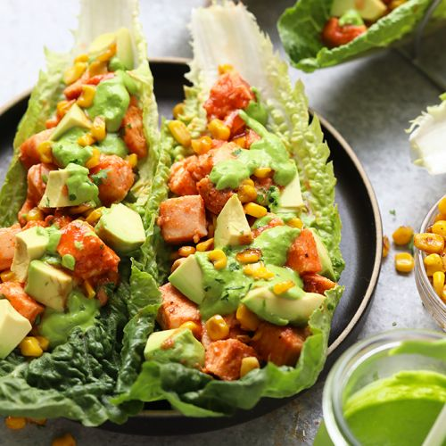 Buffalo Chicken Lettuce Wraps {VIDEO}