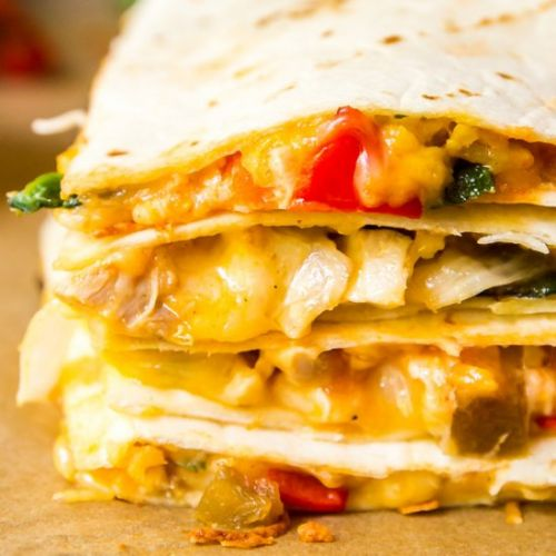 Weeknight Oven Quesadilla Recipe