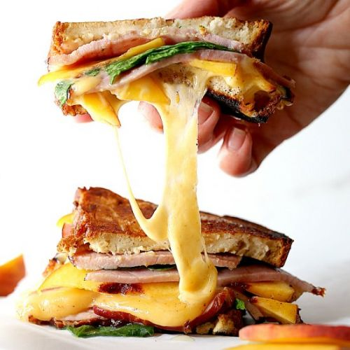 Gourmet Grilled Ham & Cheese