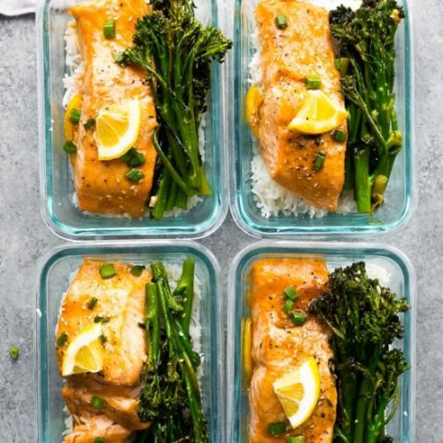 Honey Lemon Salmon & Broccolini