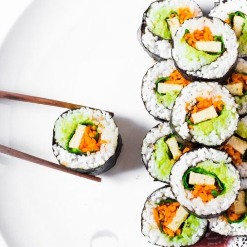Easy Vegan Sushi Rolls