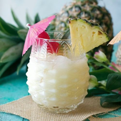 Pineapple Coconut Rum Cooler