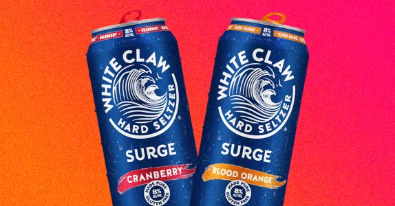White Claw's Boozier 'Surge' Hard Seltzer Hits Shelves This Month