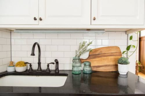 Your Grout Makes Your Kitchen Look Dirtier than It Is. Here are the Best Cheap Finds to Fix It