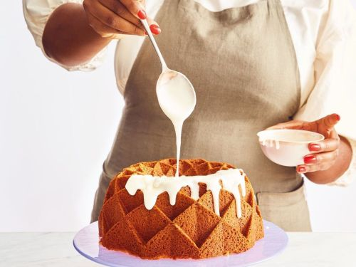 This Nordic Ware Bundt Pan Makes Vallery Lomas's Simple Pound Cake Look As Good As It Tastes