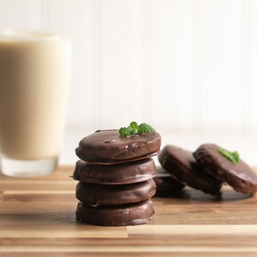Keto Thin Mint Cookies!