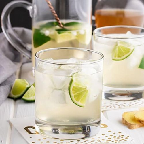 Rum and Ginger with a Twist of Lime