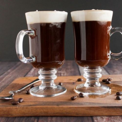 Easy coconut Irish coffee