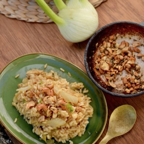 Caramelised Fennel Risotto