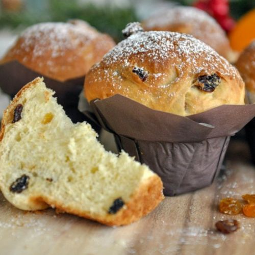 Mini Milk Bread Panettone