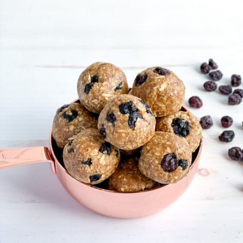 Almond Blueberry Lactation Balls