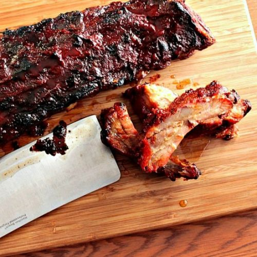 Slow Roasted Baby Back Ribs