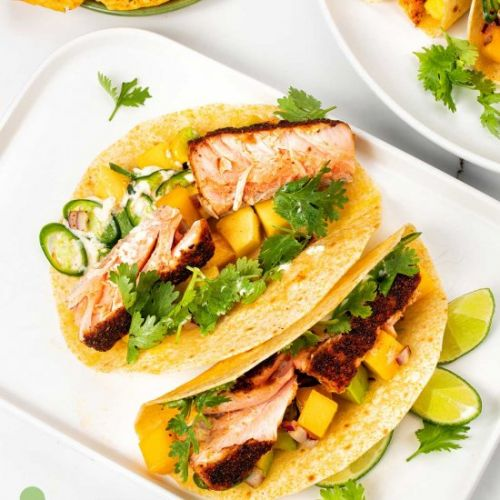 Blackened Salmon Tacos Recipe
