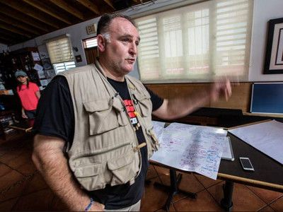 José Andrés Criticizes Trump for Poor Response to Food Crisis in Puerto Rico