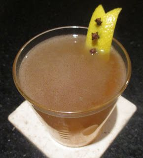 Volcano house hot buttered rum