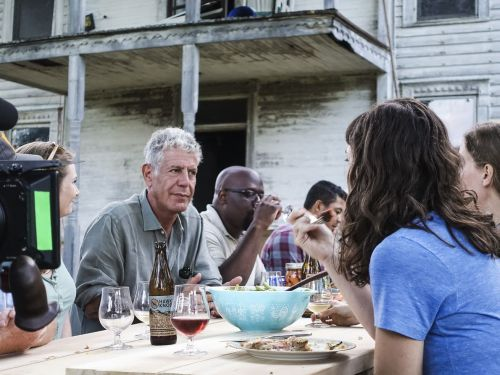 Interview: Anthony Bourdain on Traveling to the Heart of Trump Country for 'Parts Unknown'