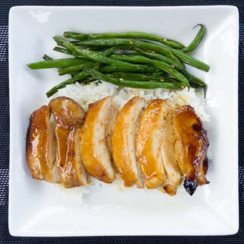 Glazed Chicken Thigh