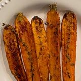 Chrissy Teigen's Thyme Roasted Carrots Are Perfect For a Holiday Side Dish