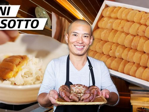How Master Chef Yasu Tanaka Makes Crab, Uni, and Shirako Risotto