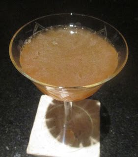 Meauxbar rye cocktail