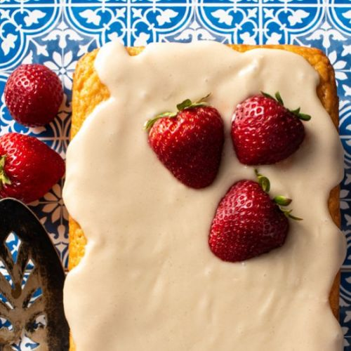 Lemon Strawberry Loaf