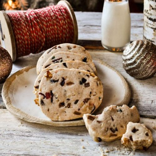 Fruit Cake Shorbread Cookies