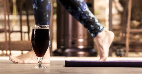 Namaste, Jerks: New 'Rage Yoga' Combines Beer and Cursing