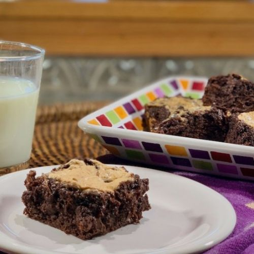Whiskey Marshmallow Topped Brownies