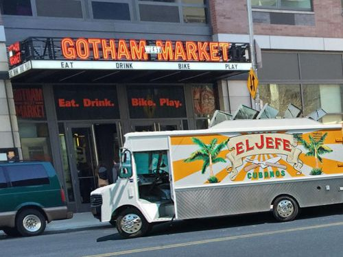 Food Halls Are the New Food Truck