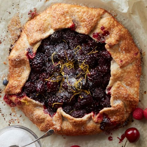 Blackberry Lemon Galette
