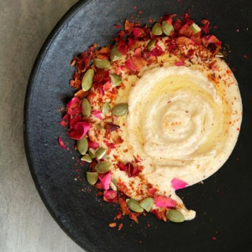 Rose Petal and Indian Spice Hummus