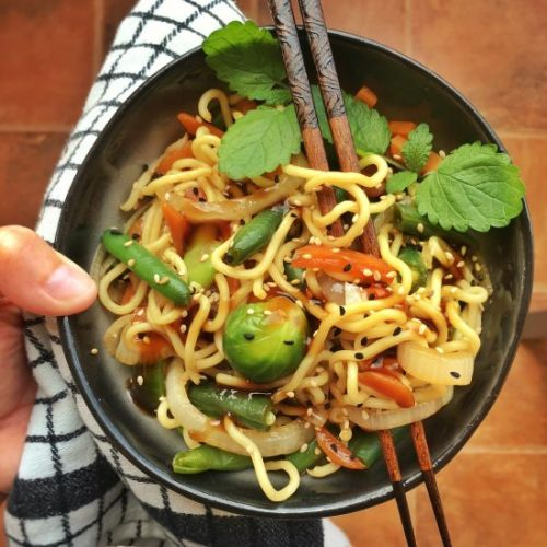 Stir Fried Chinese Egg Noodles