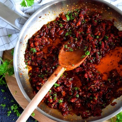 Easy Sun Dried Tomato Sauce