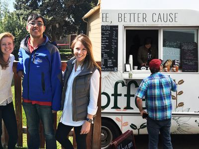 Doing It Right: The Coffee Truck Whose Coffee Is as Good as Its Mission
