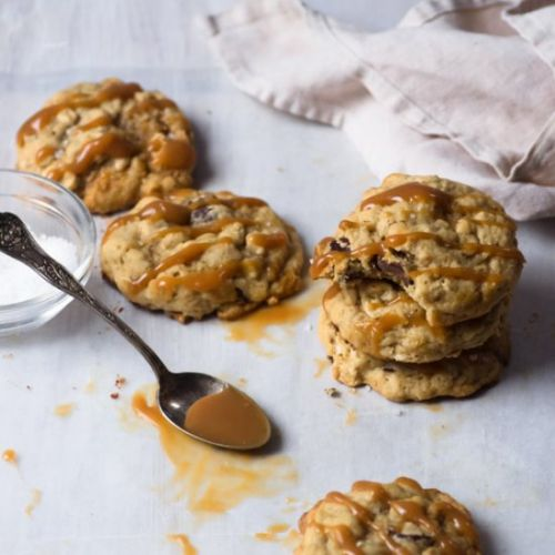 Salted Caramel Choc. Chip Cookies