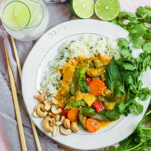 Thai Pineapple Yellow Curry