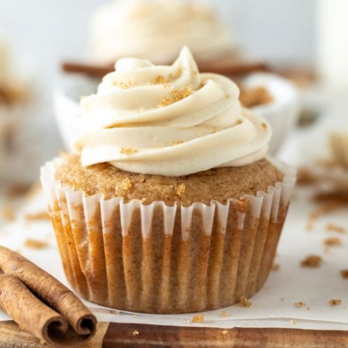 Brown Butter Brown Sugar Cupcakes