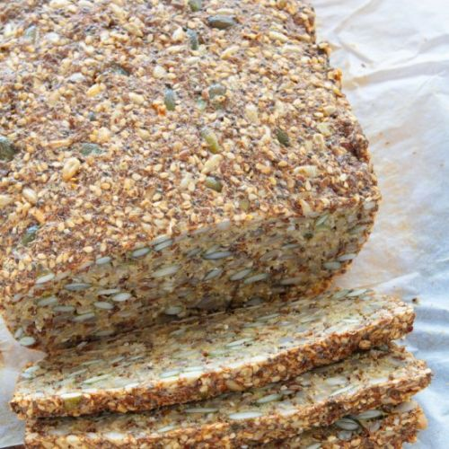 Easy Healthy Seed Bread
