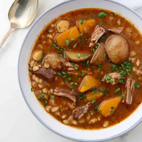 Slow Cooker Beef Stew with Barley