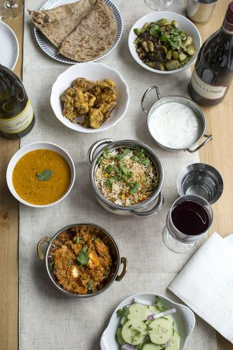 How to Host an Indian-Style Vegetarian Holiday Dinner Paired with Wine