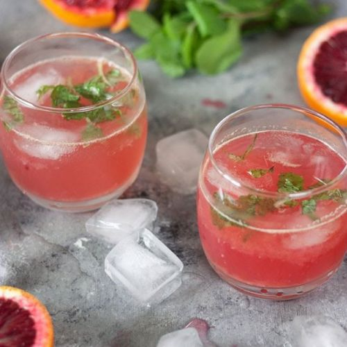 Blood Orange Cocktails