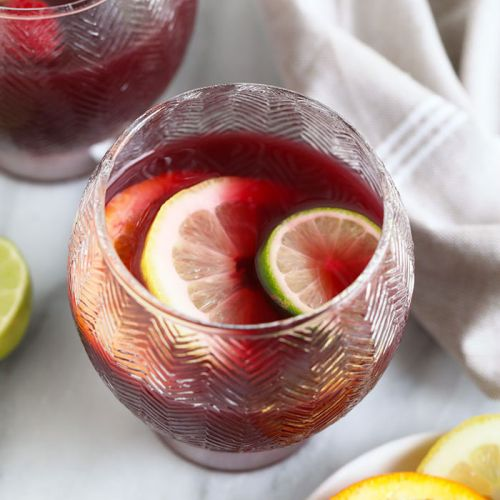 Easy Red Wine Sangria