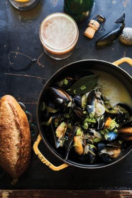 Mussels in Sour Beer