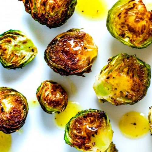 Maple & Mustard Brussel Sprouts